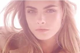 Cara Delevingne: stars in ad campaign for Burberry Body Tender