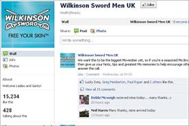Wilkinson Sword: renews support for the Movember charity
