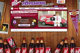 Dr Pepper: launches Pepperhood online game for teenagers