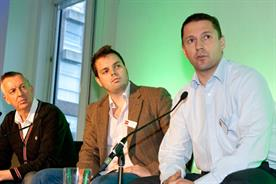 Ivan Palmer, Alex Pearmain and Ben Padley