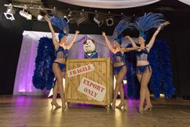 Churchill: partnering with Pontin's for stage shows