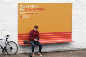 IBM makes outdoor ads useful in smarter cities campaign