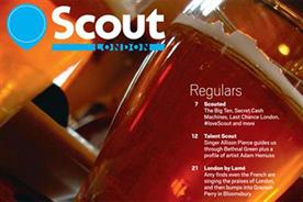 Scout London: next issue delayed until 12 June
