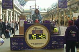 Cadbury: Spots v Stripes campaign hits St Pancras