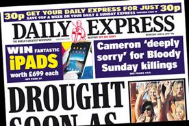 The Daily Express: iPad givaway