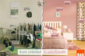 B&Q: launches unloved rooms campaign next week