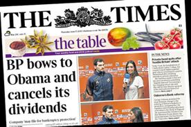 The Times: BP bows to pressure