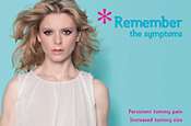 Emilia Fox: increasing the public's awareness of ovarian cancer