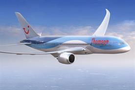 Thomson: first UK airline to roll out the Dreamliner aircraft