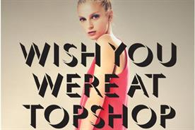 Topshop: unveils in-store digital campaign