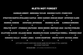 56 Black Men launches 'Let's not forget' campaign after George Floyd death
