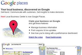 Google Places: new Hotpot app for local recommendations
