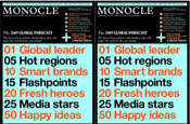 Monocle: launching into podcasts
