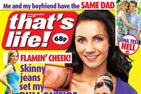 That's Life!: circulation declines by 11.7% year on year