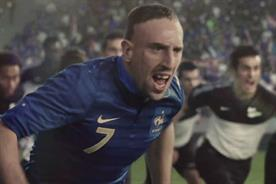 Nike: Franck Ribéry stars in My Time is Now campaign