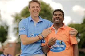 Graeme Swann and Muttiah Muralitharan star in Rubicon viral
