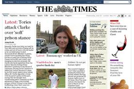 The Times: paywall is imminent