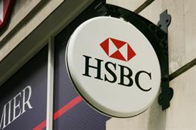 What does HSBC's agency review mean for its marketing strategy?
