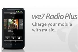 We7: unveils personalised radio mobile app