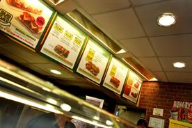 Subway: rejected the government's 'responsibility deal'