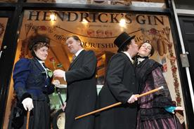 Hendrick's Gin: ran a 'Refined Courtship Clinic' in Covent Garden