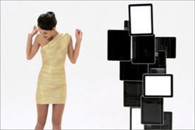 BrandAlley: fashion iWall YouTube promotion