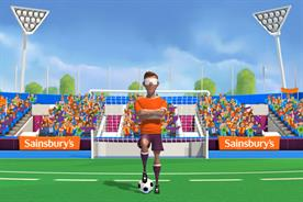Sainsbury's: rolls out blind football-based game
