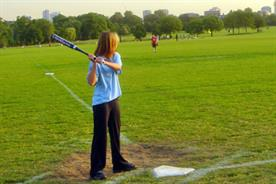 CLS V Partners: softball in Regent's Park