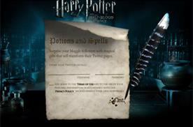 Harry Potter studio casts Hogwarts spells on Twitter