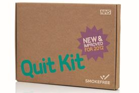 Department of Health: rolls out Quit Kit