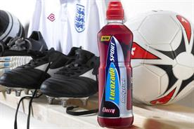 Lucozade: renews partnership with the FA for a further four years
