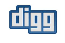 Digg: greater emphasis on social media
