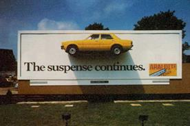 Best ads in 50 years: Araldite's Instagrammable-before-Instagram billboard