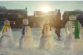 Asda: opts for snowmen over celebrities in its Christmas campaign