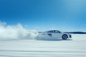 Audi: 'Snow' campaign promoting R8 model