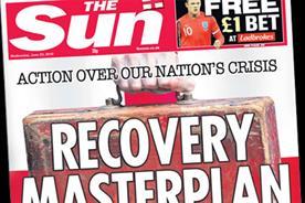 The Sun: backs Osborne