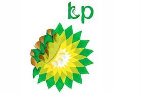 Greenpeace version of the BP logo