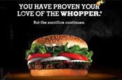 Burger King: Facebook bribe