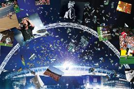 Wembley Stadium: launching ad campaign