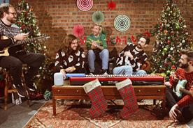 Google partners Bastille and Ella Eyre for festive delivery service