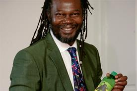 Levi Roots: blends exotic fruit juice and soft drinks flavours for Vimto