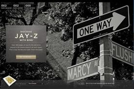 Bing: rapper Jay-Z's autobiography is focus of promotion campaign