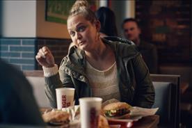 Burger King: ad shows restaurant-goer spreading fake news