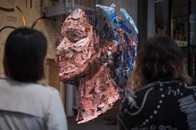 The Body Shop unveils artwork to highlight plastic action