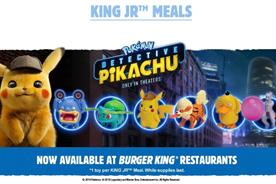 Burger King: Pokemon Detective Pikachu toy promotion