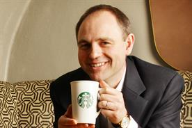 Ian Cranna: Starbucks' marketing director (photo: Steve Orino)