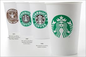 Starbucks: updates coffee brand logo