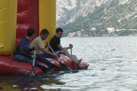 Honda: filmmakers take the plunge in Lake Garda