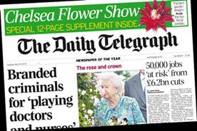 The Daily Telegraph: The Queen enjoys the Chelsea Flower Show