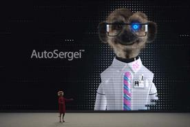 Comparethemarket introduces new robot meerkat AutoSergei